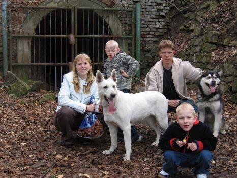 Výlet na hrad Buchlov - sklepení