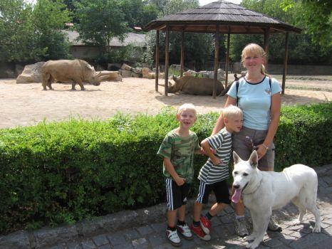 Rýzmburk výcvikový tábor 2006 - výlet do ZOO Dvůr Králové