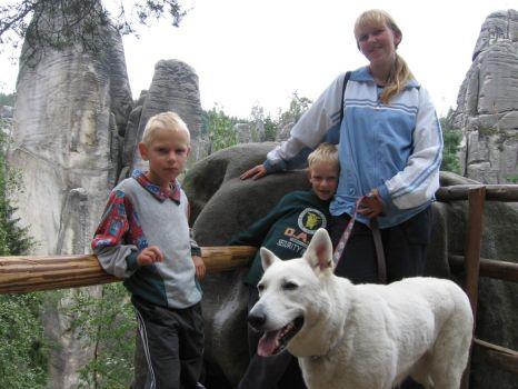Rýzmburk výcvikový tábor 2006 - Adršpachské skály